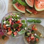 This Watermelon Salad Tastes Like Summer in Your Mouth