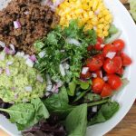 Easy 15 Minute Ground Beef Guacamole Bowl For Clean Eating