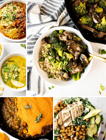 5 healthy clean eating dinners for this week