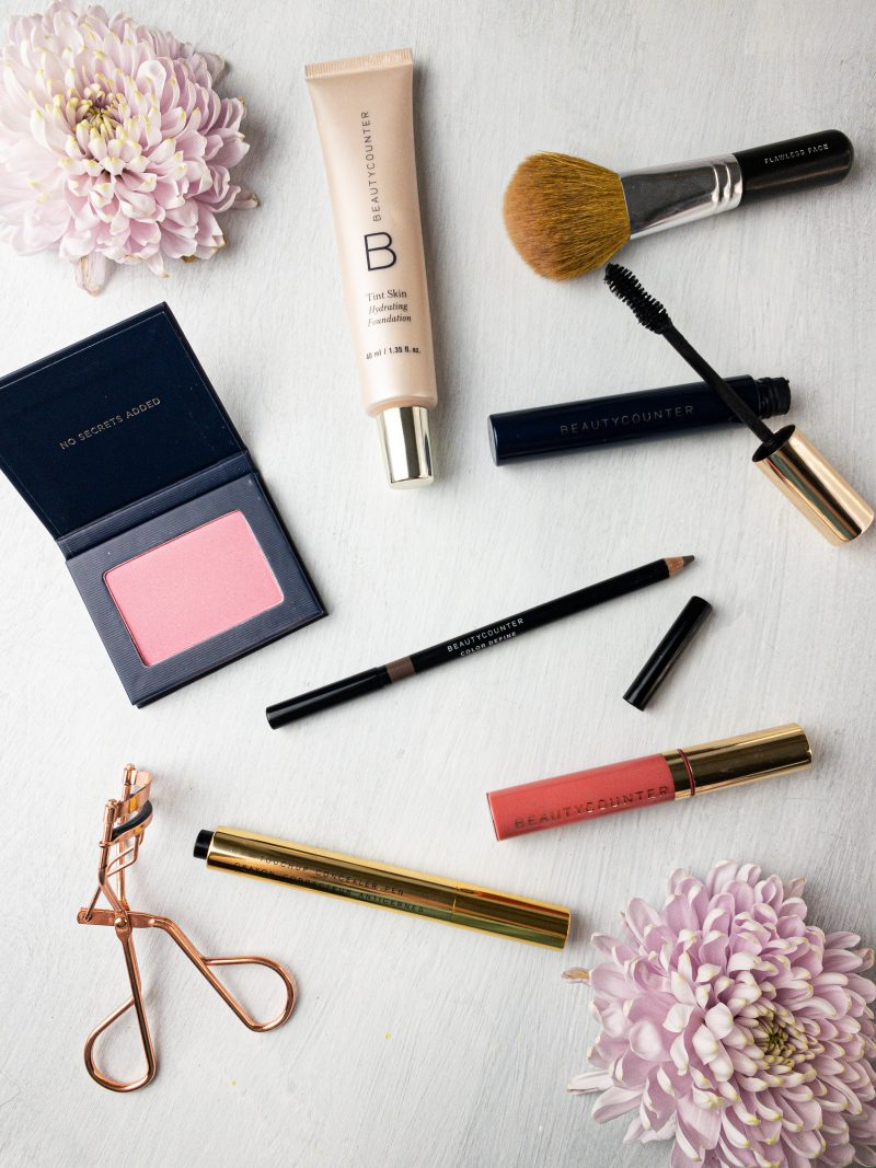 beautycounter flawless in five makeup products