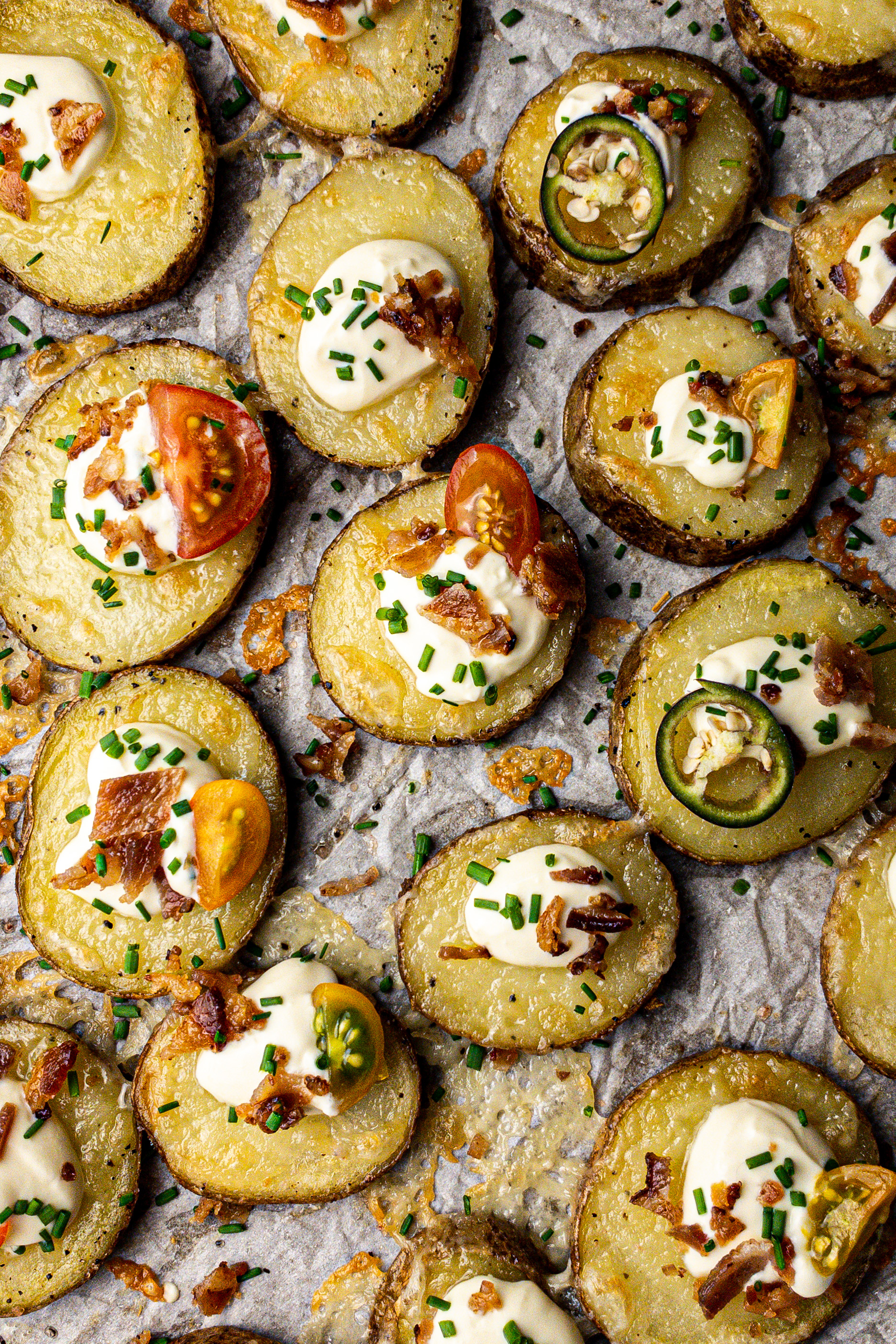 Loaded Baked Potato Bites for Clean Eating